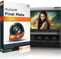 Aunsoft Final Mate (Videoeditor für Camcorderformate MOD, TOD, AVCHD | Win)