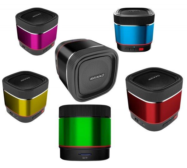 Neuer Bluetooth® & microSD-Card Speaker von RAIKKO im Angebot - PARTY X1 für 24,95 Euro