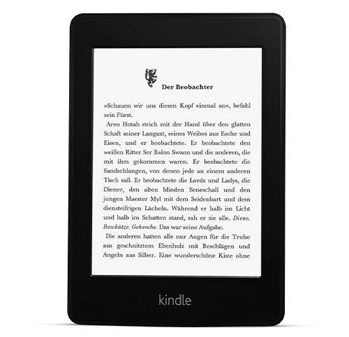 Kindle Paperwhite Vorgängermodell jetzt für 99 Euro [Amazon.de]