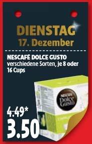 [Offline] Kaisers: Dolce Gusto Kapseln für 3,50€ pro Packung