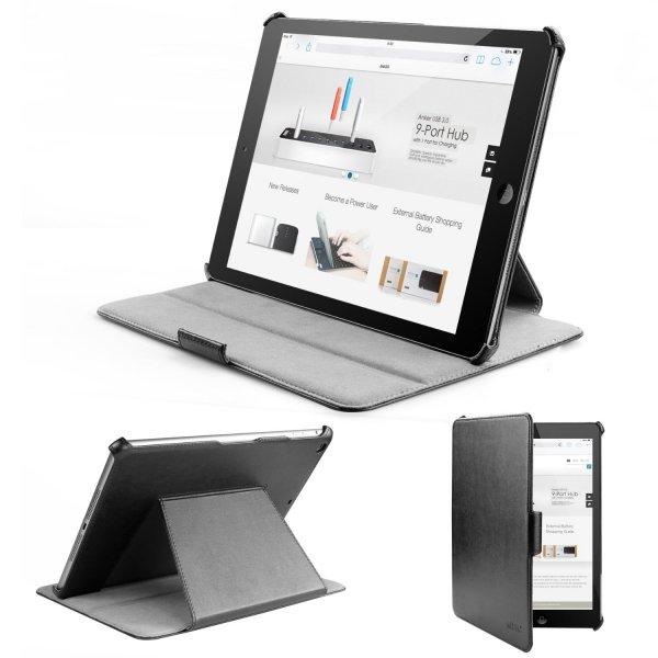 Anker® iPad Air Premium Ledertasche inkl. Schutzfolie für 9,99€ inkl. VSK statt 29,99€! @Amazon.de