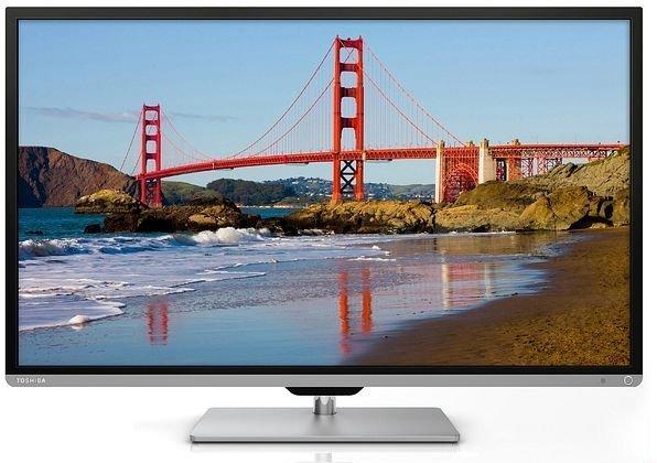 Toshiba 50L7333DG 126 cm (50 Zoll) 3D LED-Backlight-Fernseher [Amazon Warehouse] WIE NEU