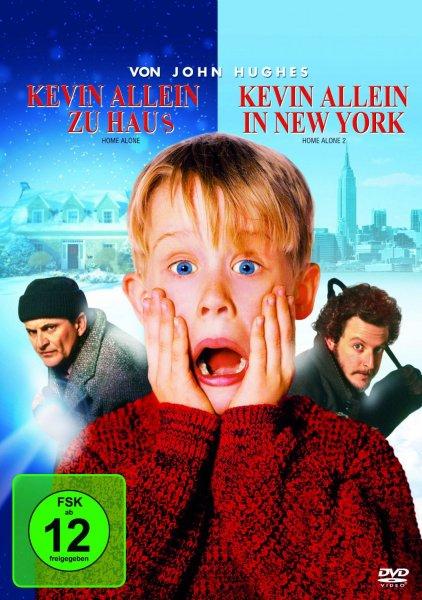 Kevin allein zu Haus / Kevin allein in New York @ Amazon für 5,24 EUR (Prime) ansonsten + 3,00 EUR Versand