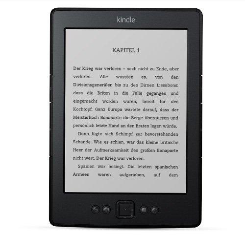 (AMAZON) Kindle eReader mit WLAN 6 Zoll statt 69,00 Euro