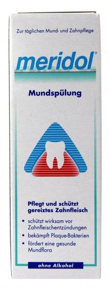 Rossmann offline: Meridol Mundspülung 400ml für 3,79€.
