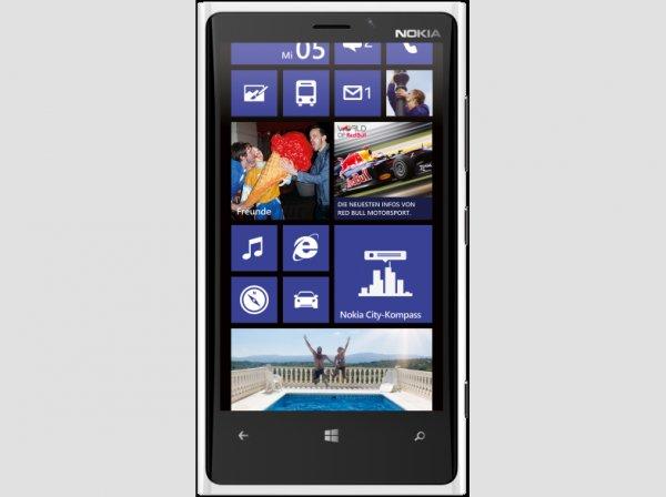 Nokia Lumia 920 in Grau und Weiß bei Mediamarkt.de