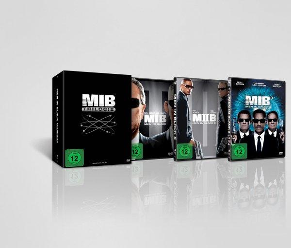 Men in Black Trilogie-DVD-Box - komplett in Deutsch - für 13€ @Tchibo mit kostenlosem Versand in Filiale