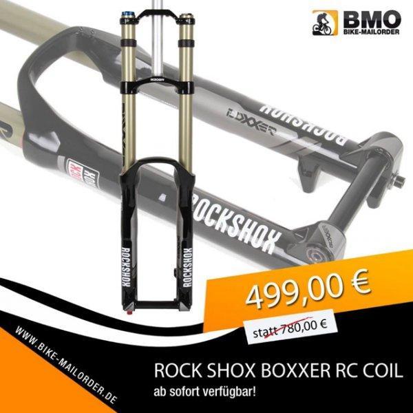 -BikeMailorder-Rock Shox Boxxer RC Coil 499,- statt 780,- Eier