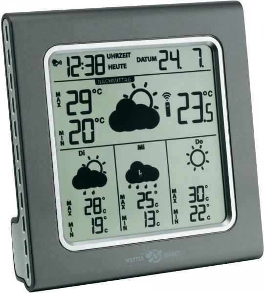 TFA Funk-Wetterstation Galileo mit Vorhersage für 4 Tage € 27.- (inkl. Versand) @ voelkner.de