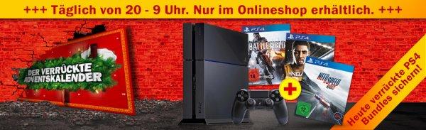 Diverse PS4-Bundles heute ab 20 Uhr im Media Markt Adventskalender (ausverkauft?)