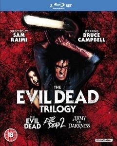 (UK) Tanz der Teufel / Evil Dead Trilogy [3 x Blu-ray] O-Ton für 14,19€ @ Zavvi