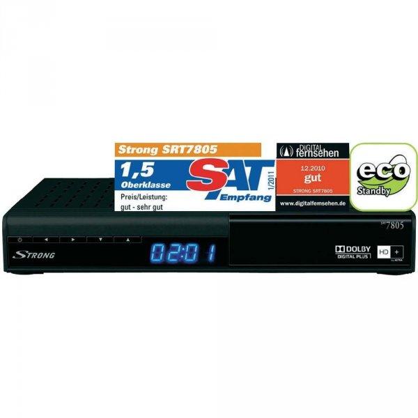 STRONG SRT 7805 HD+ DIGITALER HD-SAT-RECEIVER INKL. 12 MON. HD+