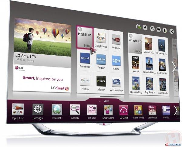 55 Zoll Fernseher LG 55LA8609