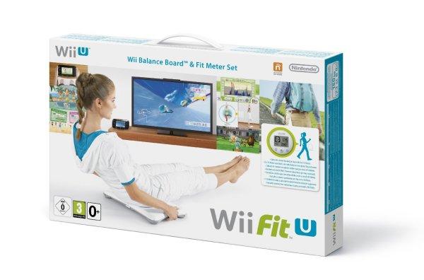 Nintendo™ - Wii Fit U + Fit Meter + Wii Balance Board für €79.- [@Buecher.de]