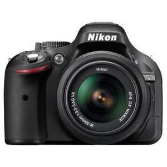 Wieder da: Ablitzangebot: Nikon D5200 SLR-DigitalkameraKit inkl. AF-S DX 18-55 mm für 549€