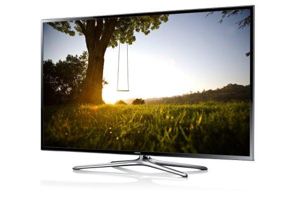 Samsung UE40F6470 101 cm (40 Zoll) 3D-LED-Backlight-Fernseher, EEK A (Full HD, 200Hz CMR, DVB-T/C/S2, CI+, WLAN, Smart TV, HbbTV, Sprachsteuerung) schwarz - Amazon WHD