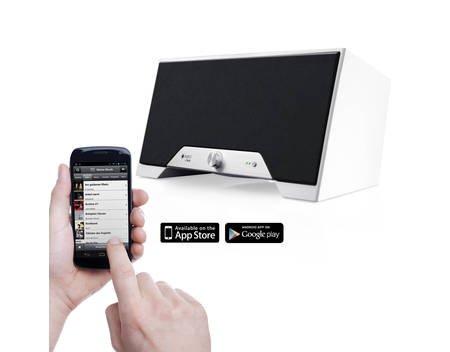 Mein Paket: Teufel Raumfeld One - Klangstarker All-in-One-WLAN-Stereo-Speaker mit Zugriff auf Internetradio, Musikdienste, Musiksammlung für 299,23 €