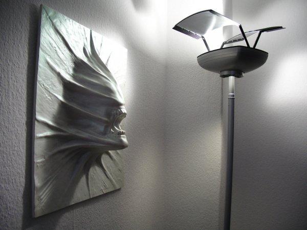 ALIEN vs. PREDATOR Prometheus BILD WALL RELIEF GiGER VITRA WANDPANEELE PANTON 3D