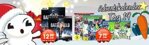 Gamestop online / offline 19. Tag Battlefield 3 (PC, PS3, Xbox 360) ab 12,99 €, Sims 3 Addons (PC) ab 7,99 €