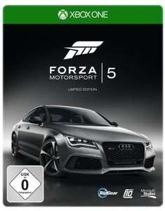 [Xbox One] Forza Motorsport 5 Steelbook Limited  Edition für  44,97 € im Amazon.de Adventskalender
