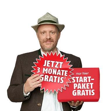 3 Monate Allnet Starter Tarif von Klarmobil für 1€