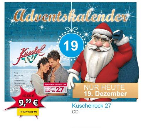 Kuschelrock/Kuschel ROCK 27 (Audio-CD Album) € 9,99 @ }M{ Müller-Filialen mit Multi-Media Abteilung oder mueller.de