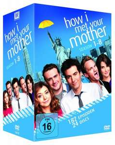 How I Met Your Mother 1-8 Komplettbox (89,99 Euro) [Amazon.de]