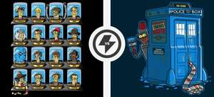 Doctor Who / Futurama Mash-Up sehr limitierte T-Shirts 11€