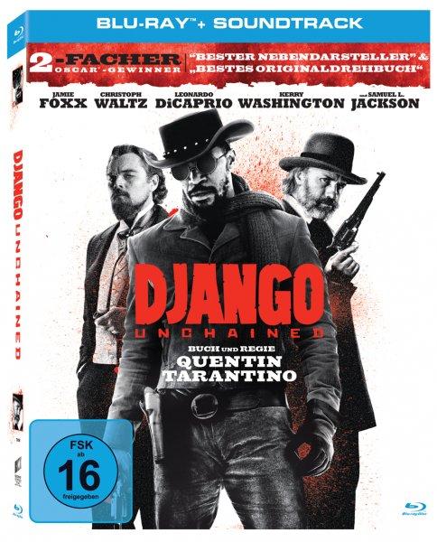 [Müller] Django Unchained + Soundtrack (Blu-ray)