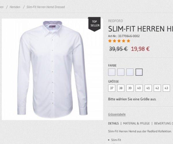 Seidensticker Redford Slim-Fit Herren Hemd -50% & qipu möglich