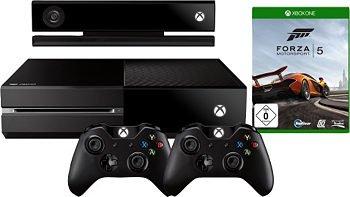 Xbox One Bundle (plus 2ter Controller und Forza 5) 512,49€ (Qipu 5% zusätzlich) Otto.de