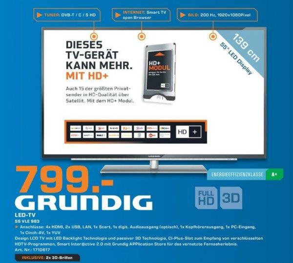 Grundig 55 VLE 983 799€ Lokal [Saturn Braunschweig]