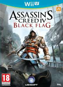 Assassin's Creed 4: Black Flag (Wii U)  UK Fassung +PS3/ X-Box 360 & special edition