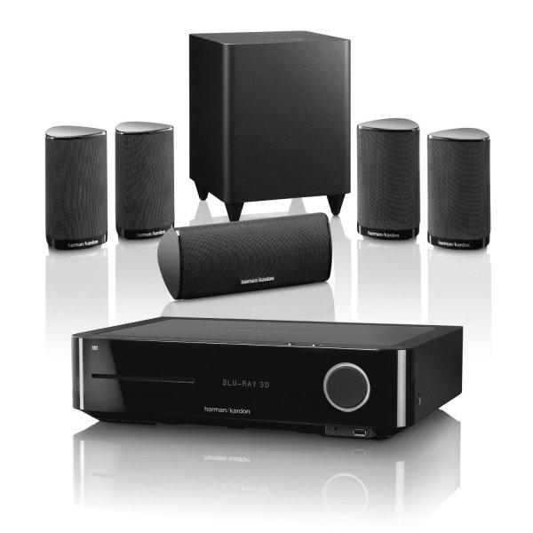 Harman Kardon BDS 750 5.1 Blu-ray Heimkinosystem (3D, HDMI, USB) schwarz für 656€ @Otto