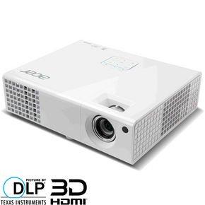 Acer X1340WH DLP Beamer, WXGA, 2.700 ANSI Lumen, 10.000:1 Kontrast, 3D-fähig über HDMI € 333.- @ notebooksbilliger.de