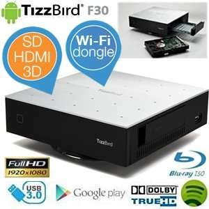TizzBird F30 MiniPC – Android Media Player mit Wifi Dongle für 55,90€