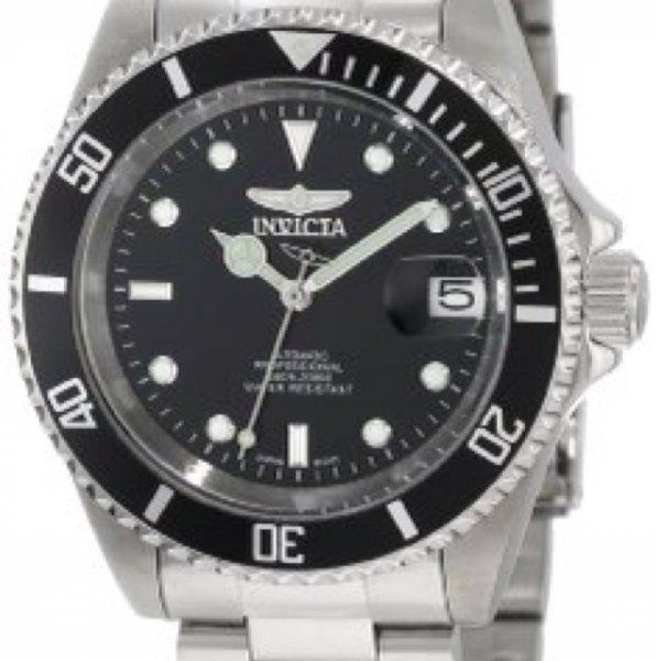 Invicta Herren-Armbanduhr XL Automatik Edelstahl 8926