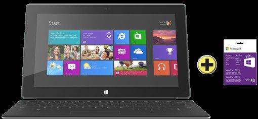 [SCHWEIZ] Surface RT 64GB + Touchcover + 50CHF für den Appstore