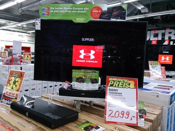 (LOKAL RUHRPARK BOCHUM) Sony KDL 55 W 905 mit Tablet jetzt 2099€