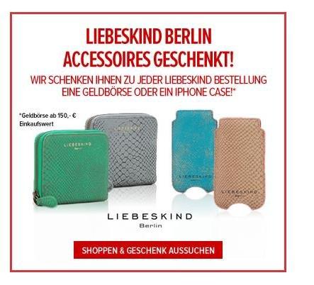 [online] Liebeskind Berlin Sale bei wardow.com - bis zu 50% + Accessoire gratis dazu