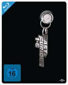 Blu-ray Fast & Furious 1-6 Steelbook Box  (Limitiert und exklusiv bei Amazon)