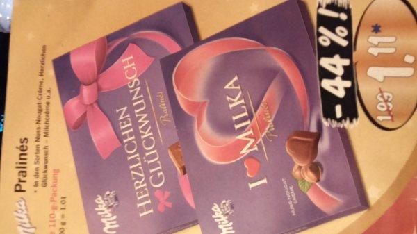 Milka pralines vers. Sorten @lidl für 1,11€
