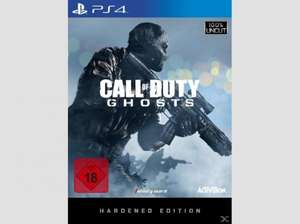 Call of Duty Ghosts Hardened Edition für PS4 und XBOX1 für 75€