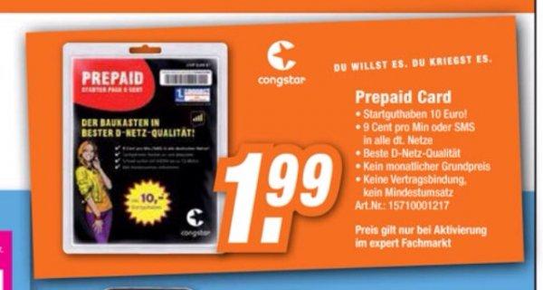 [Offline] Congstar Prepaid @ Expert