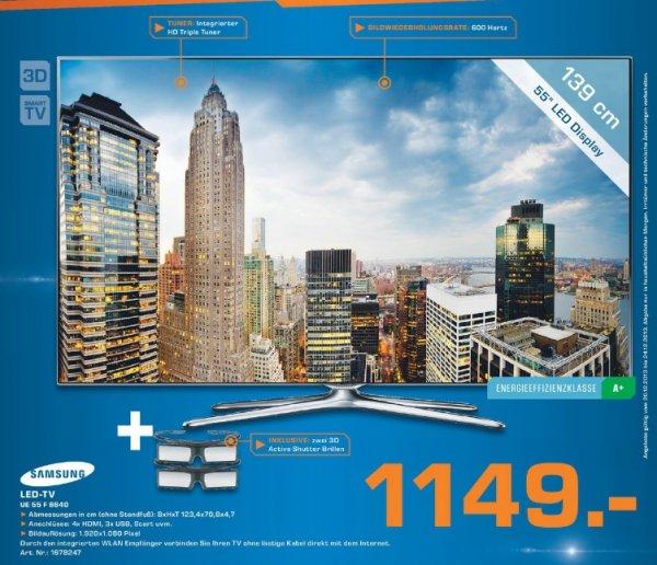 Samsung UE55F6640 für 1149€ Lokal [Saturn Leverkusen]