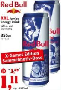 Red Bull XXL 355ml Dosen, 1,11€ , ab 23.12. @ Thomas Phillips Sonderposten