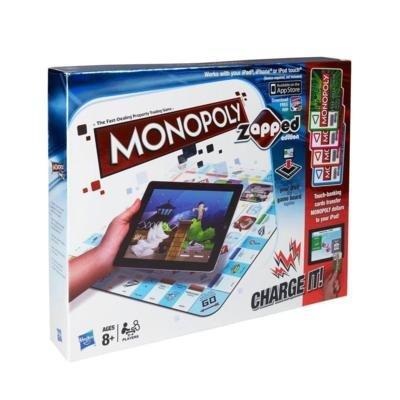 Monopoly Zapped, spielbar mit iPad, iPhone und iPod Touch