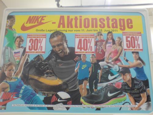 40-50% auf ALLE Nike Artikel beim Sportsohn @ Ulm!