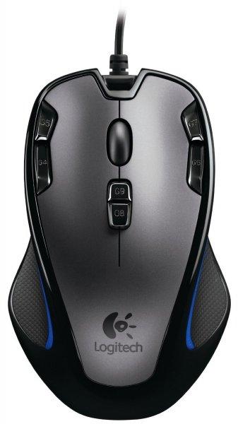 Logitech G300 Gaming Maus schnurgebunden grau-schwarz für 26,33€ @ Amazon