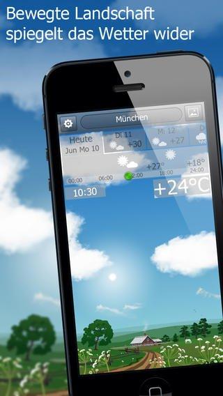 YoWindow Wetter kostenlos statt 2,69 € für iOS